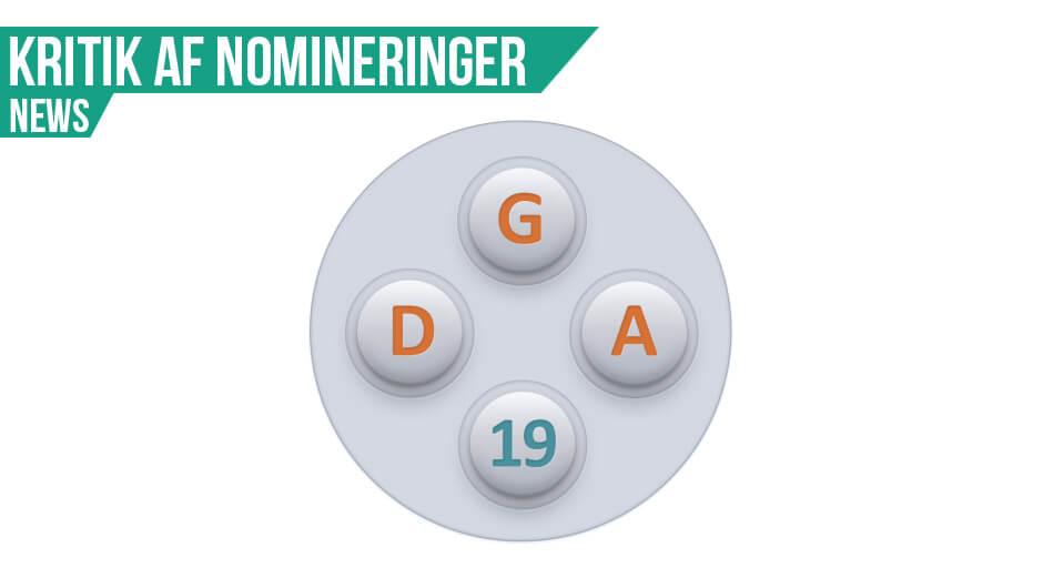 De nominerede til DGA19