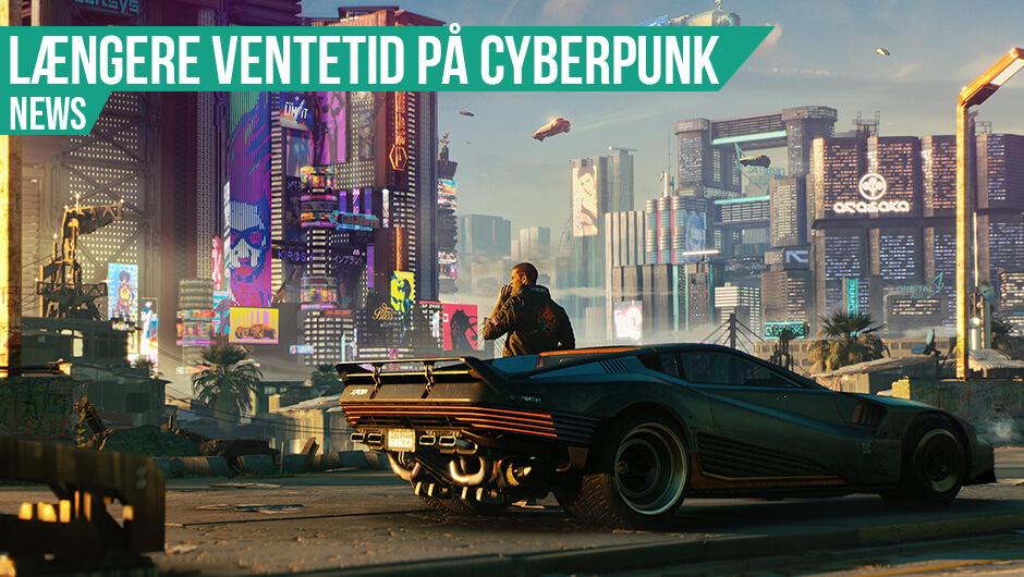 Cyberpunk udskudt til december