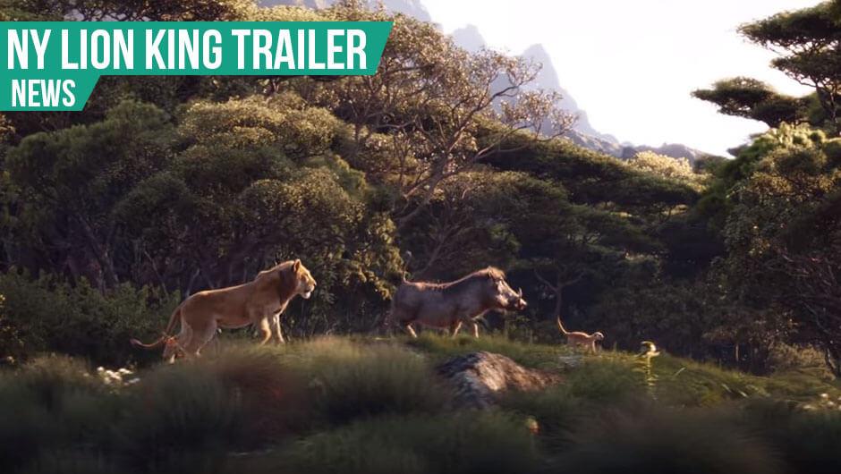 Ny Lion King trailer