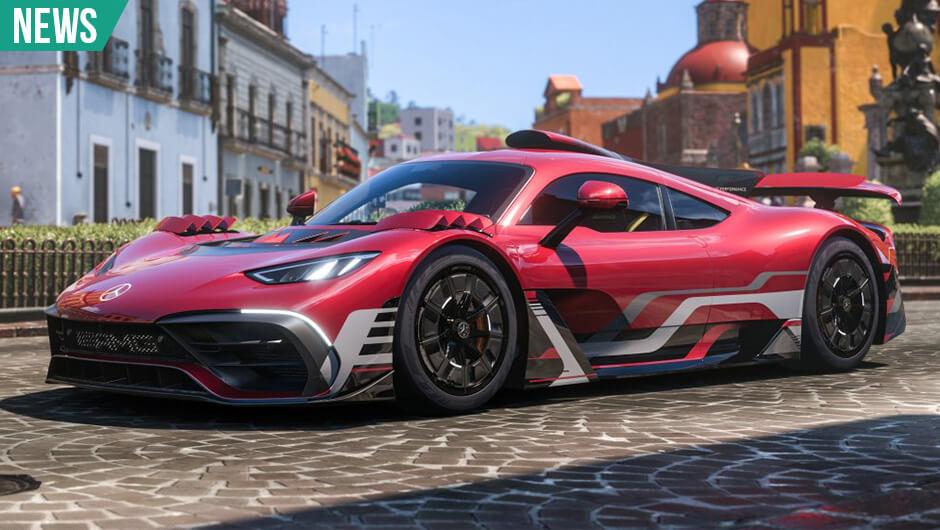 Mange biler i Forza Horizon 5