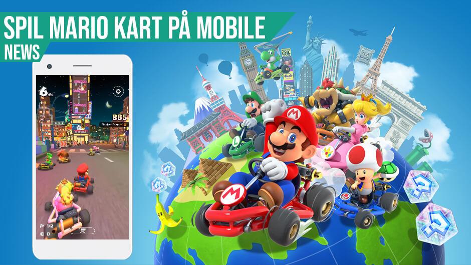Mobilt Mario Kart ude nu