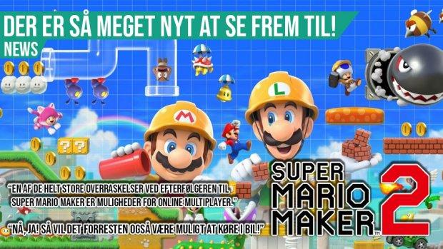 Super Mario Maker 2 detaljer