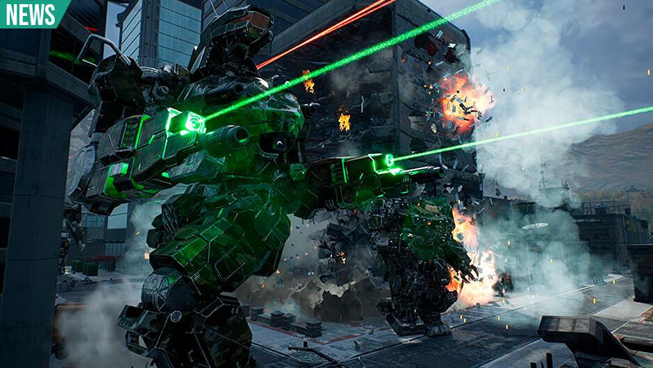 Mechwarrior 5 kommer til Playstation