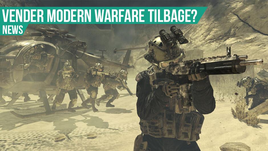 Modern Warfare 4 måske på vej