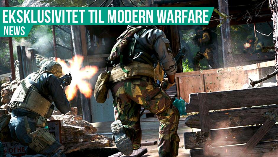 Modern Warfare med PS4 eksklusivitet og loot boxe
