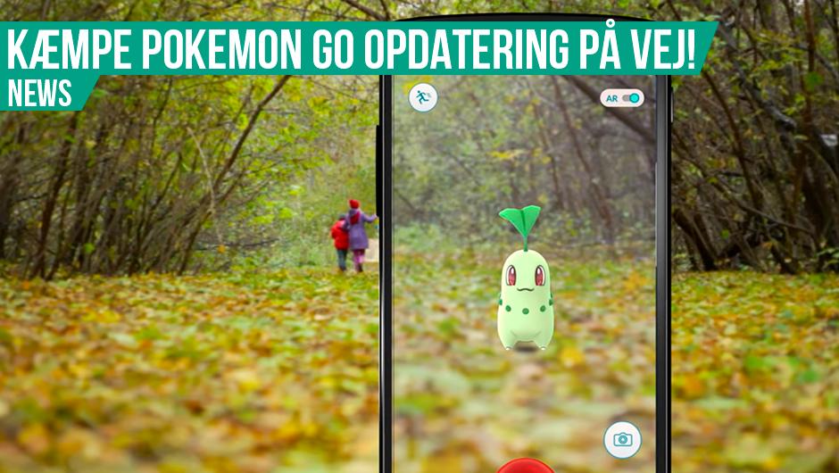 Kæmpe Pokémon GO opdatering på vej!