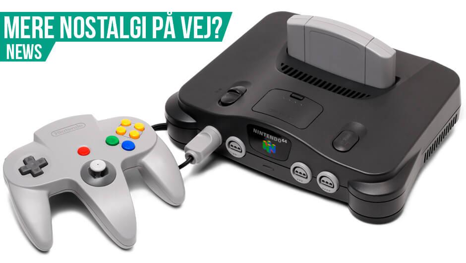 Nintendo 64 på vej?