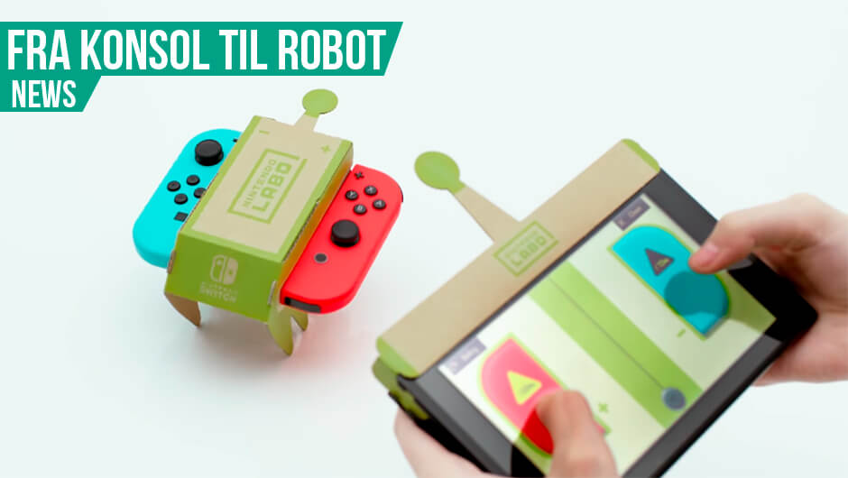Nintendo introducerer Labo