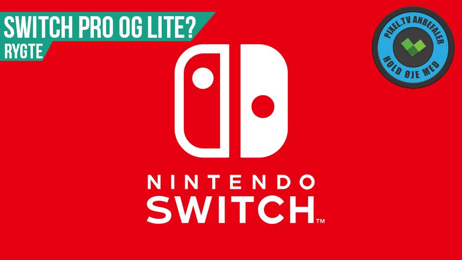 2 nye Nintendo Switch konsoller på vej!