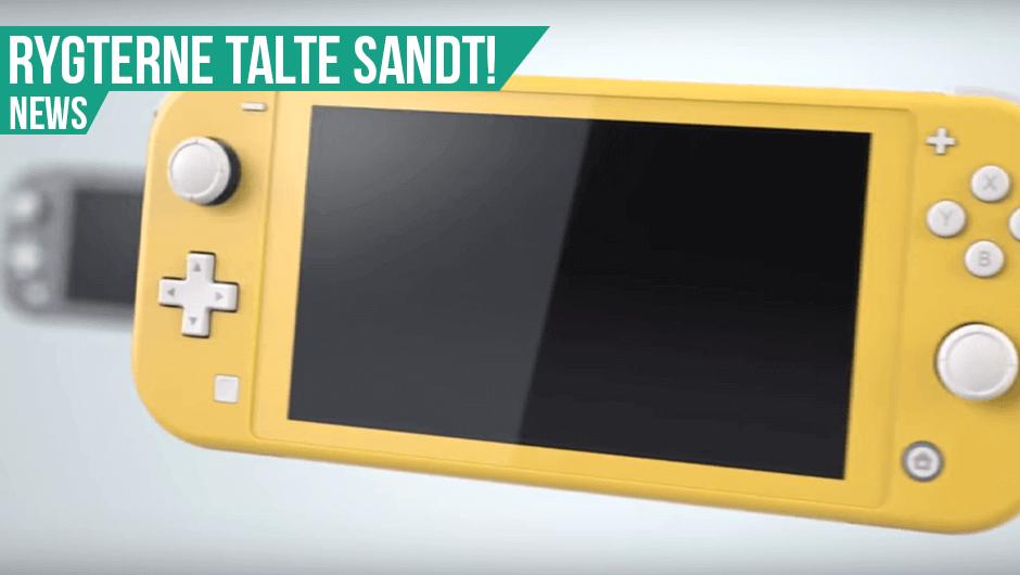 Nintendo Switchen får et nyt familiemedlem!