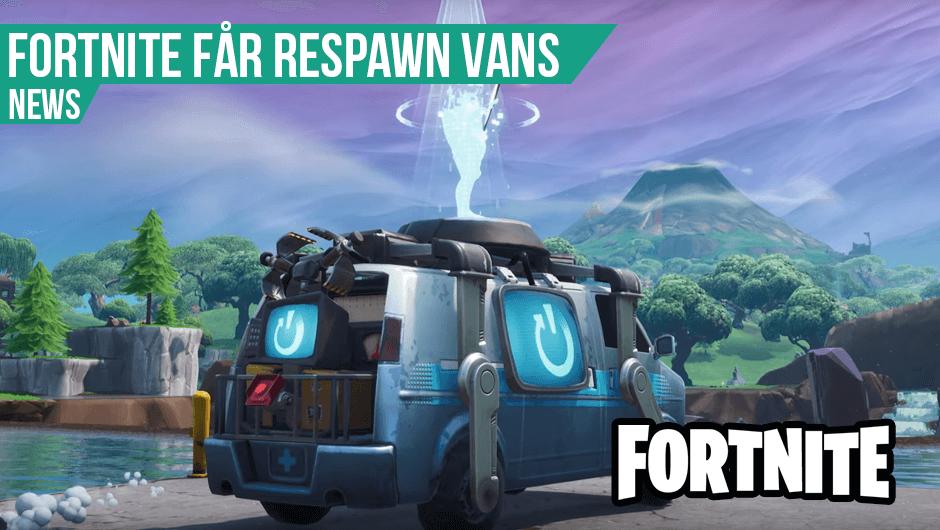 Respawn kommer til Fortnite