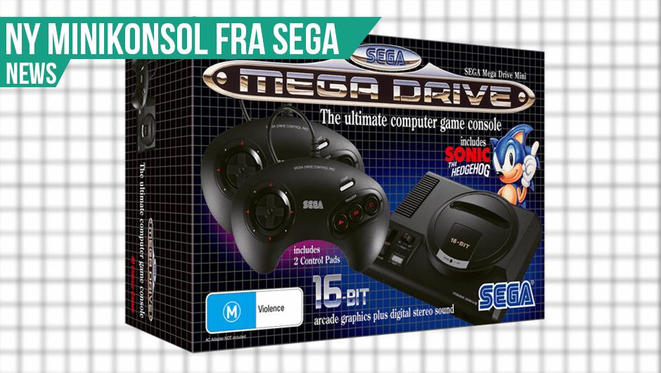 Sega Mega Drive Mini Annonceret