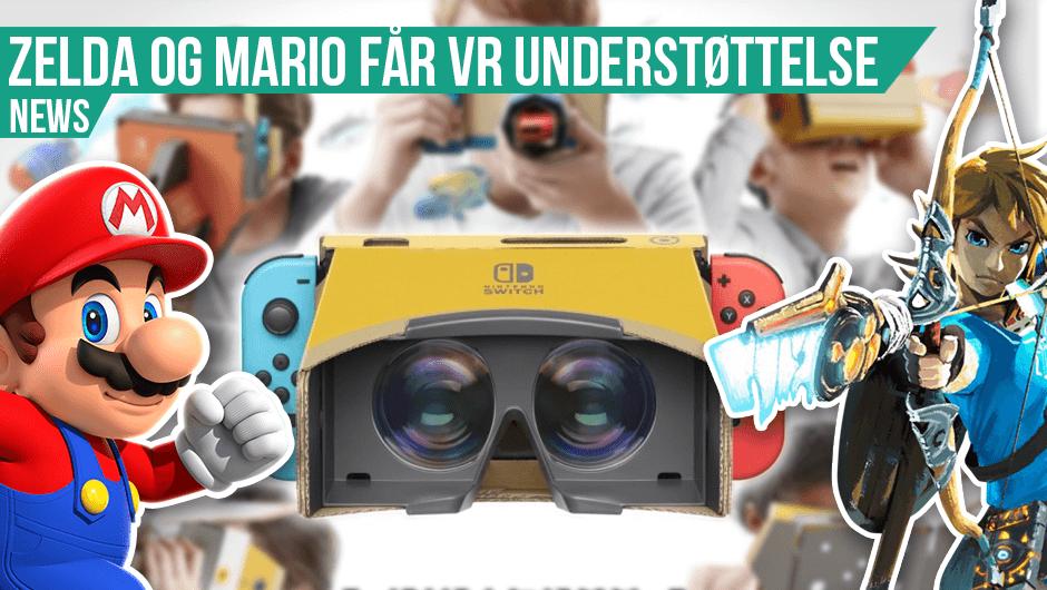 Mario og Zelda i VR