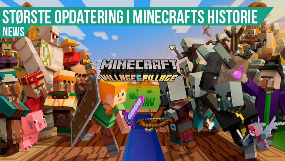 Stor opdatering til Minecraft