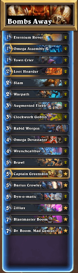 warrior deck