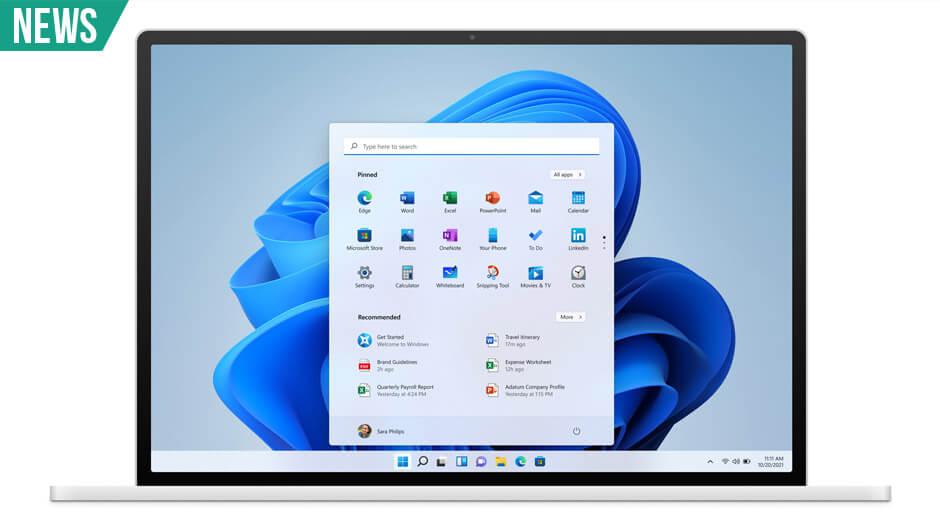 Windows 11 klar 5. oktober