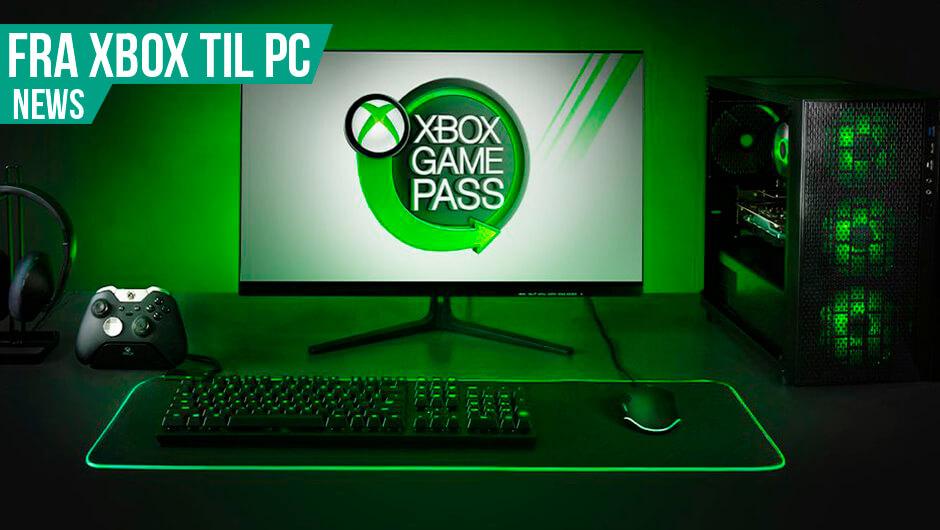 Xbox Game Pass kommer til PC