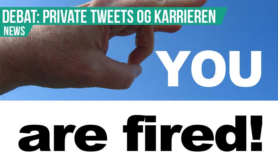 Upassende tweets fik konsekvenser